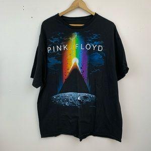 Liquid Blue Pink Floyd graphic band tee
